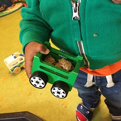 Cereal-with-trucks-and-diggers-tuff-tray-1