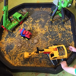 Cereal-with-trucks-and-diggers-tuff-tray-5