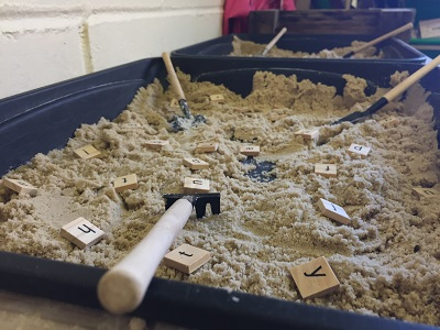Sand-letters-and-numbers-provocation-in-Noahs-Ark