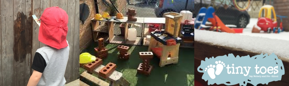 All-weather outdoor space at Tiny Toes Hertford Day Nursery and Pre-school
