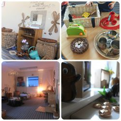 Images of Pooh Corner baby room features and provocations