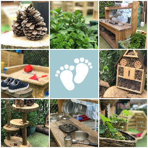 Image of Tiny Toes Hertford Outdoor space