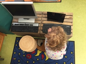 Technology provocation at Tiny Toes Hertord