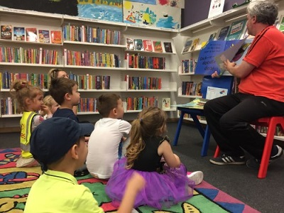 Visit to the library with the Preschool room